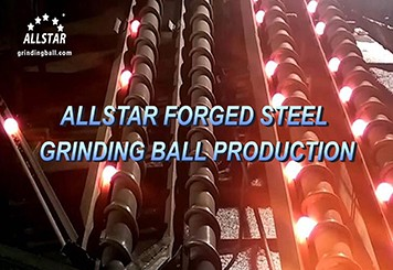 Forged Steel Grinding Ball Production
