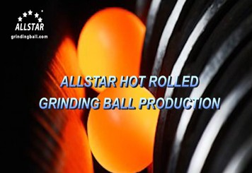Hot Rolled Grinding Ball Production