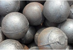Manufacturing process of casting steel ball