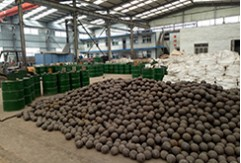 Shipment for 5 Containers of Grinding Balls for Canada Gold Mine