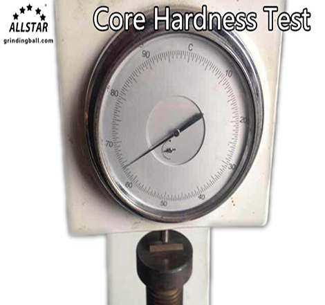 core hardness test